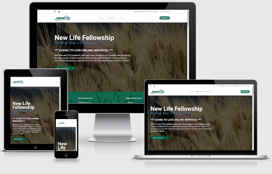 New Life Fellowship responsive devices